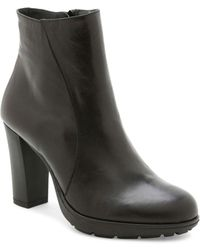 Andre Assous - Misty Water-resistant Leather Ankle Boots - Lyst