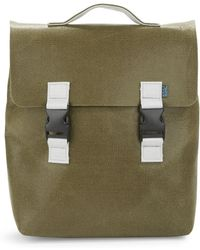 M.R.K.T. - Carter Felt And Faux Leather Backpack - Lyst