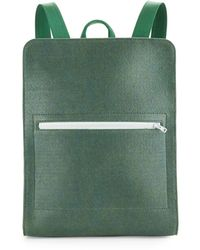 M.R.K.T. - Evan Felt And Faux Leather Backpack - Lyst
