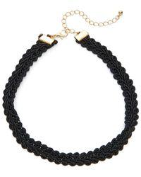 Panacea - Lace Choker Necklace - Lyst