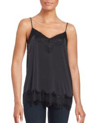 Ella Moss - Lace-trimmed Camisole - Lyst