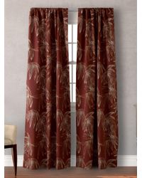 Tommy Bahama - Cayo Coco Pole Top Pair Of Curtains - Lyst