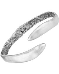 The Sak - Metal Bypass Bangle Bracelet - Lyst