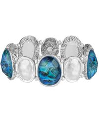 The Sak - Set Stone Stretch Bracelet - Lyst