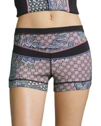 Prana - Patterned Swim Shorts - Lyst