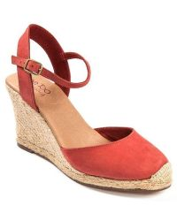 Me Too - Bethany Leather Wedge Platform Pumps - Lyst