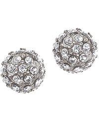 Judith Jack - Crystal Fireball Earrings - Lyst