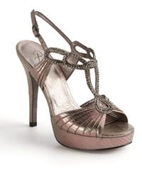 Adrianna Papell Madalen Embellished Strappy Sandals