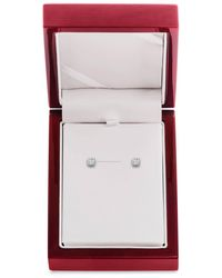 Lord & Taylor - Diamond And 14k White Gold Stud Earrings, 0.5 Tcw - Lyst