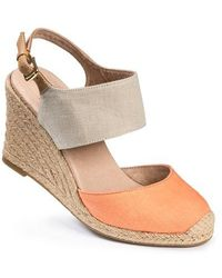 Me Too - Bellena Canvas Wedges - Lyst