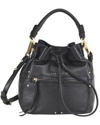 Sanctuary - Leather Drawstring Bucket Bag - Lyst
