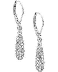 Anne Klein - Glitz Earrings - Lyst