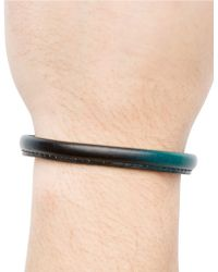 Hook + Albert - Leather Bangle Bracelet - Lyst