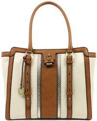 London Fog - Lancaster Vegan Leather Tote - Lyst