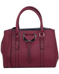 London Fog - Hutton Leather Triple Satchel - Lyst