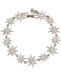Betsey Johnson - Blue By Pavé Star Tennis Bracelet - Lyst