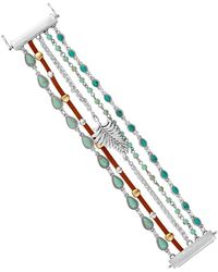 Lucky Brand - Turquoise Multi-row Magnetic Bracelet - Lyst