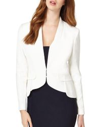 Phase Eight - Elaina Peplum Jacket - Lyst