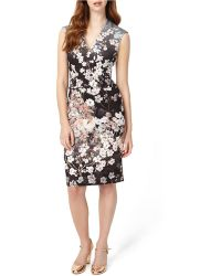 Phase Eight - Kyoto Printed Dress - Lyst