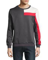 Laboratory Lt Man - Colorblocked Track Sweatshirt - Lyst