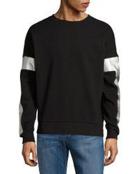 Laboratory Lt Man - Metallic Accented Sweatshirt - Lyst