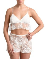 Rya Collection - Two-piece Dazzle Embroidered Bra And Shorts Set - Lyst