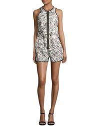 Artistix - Sleeveless Printed Jumpsuit - Lyst