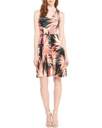 Maggy London - Printed Dress - Lyst