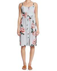Paper Crown - Floral Print Grace Dress - Lyst