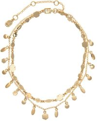 Ivanka Trump - Two-row Stone Accented Choker Necklace - Lyst