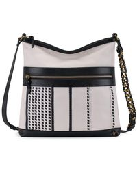 Elliott Lucca - Gini Flat Leather Crossbody Bag - Lyst