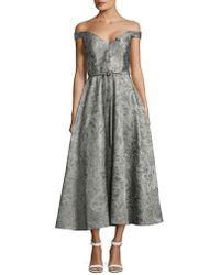 Barbara Tfank - Half Circle Maxi Dress - Lyst