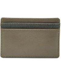 Fossil - Textured Leather Card Case - Lyst