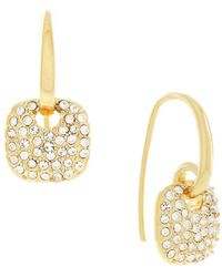 Cole Haan - Cushion Charm Hoop Earrings - Lyst