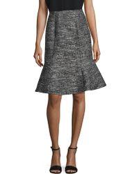 Ellen Tracy - Zippered Skirt - Lyst