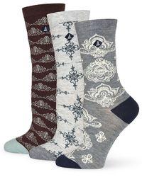 Sperry Top-Sider - Medallion Dress Socks Set - Lyst