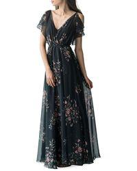 Jenny Yoo - Cassie Print Maxi Dress - Lyst
