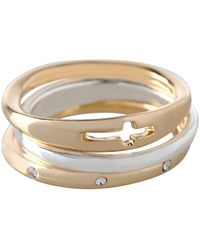 BCBGeneration - Faith Rings/set Of 3 - Lyst