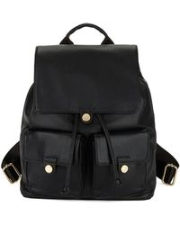 CALVIN KLEIN 205W39NYC - Faux Leather Backpack - Lyst