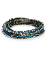 Cara - Stone-accented Stretch Bracelet Set - Lyst