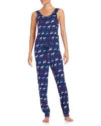 Roudelain - Printed Sleep Jumpsuit - Lyst