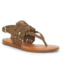 1.STATE - Lenn Leather Sandals - Lyst