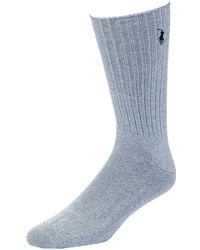 Polo Ralph Lauren - Ribbed Socks - Lyst