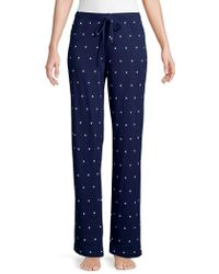 Lord & Taylor - Starry Pajama Pants - Lyst