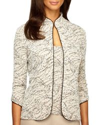 Alex Evenings - Two-piece Embellished Jacket And Tank Top Set - Lyst