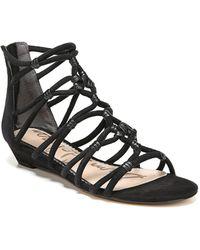 Sam Edelman - Daryn Suede Wedge Sandals - Lyst