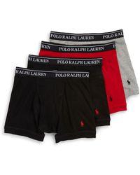 Polo Ralph Lauren - Four-pack Boxer Briefs - Lyst