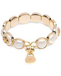 Lauren by Ralph Lauren Faux-pearl And Goldtone Bracelet - Metallic