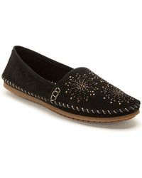 Me Too - Stardust Suede Moccasins - Lyst