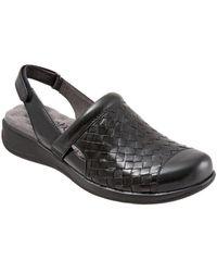 Softwalk - Salina Leather Clogs - Lyst